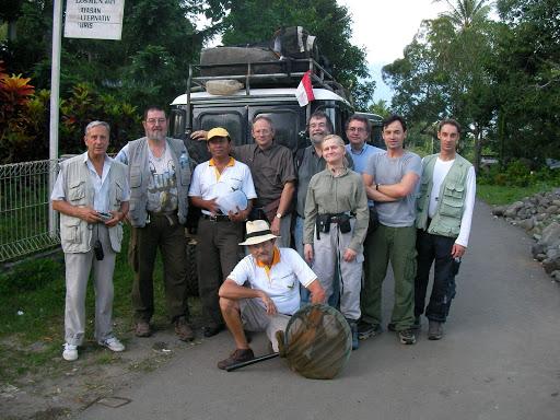 Août 2007 : Expédition en Arfak
